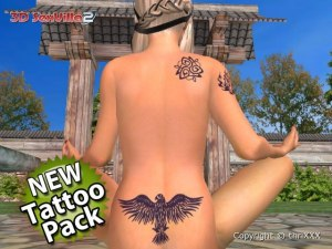 Erotic tattoos 3d girls
